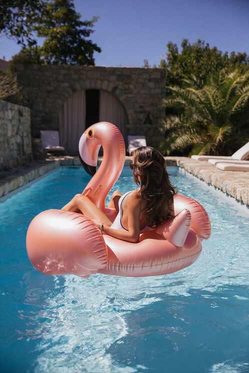 Boia Luxo Flamingo Rose Gold